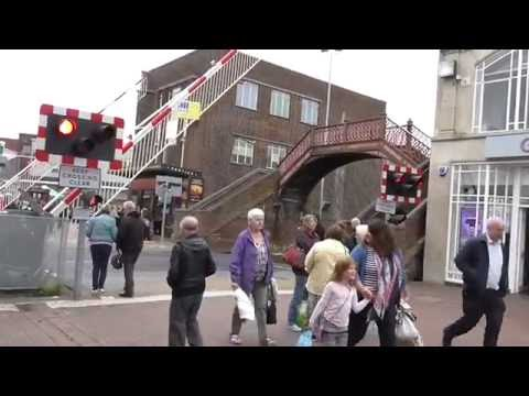 Poole High Street Level Crossing Dorset 01/06/16