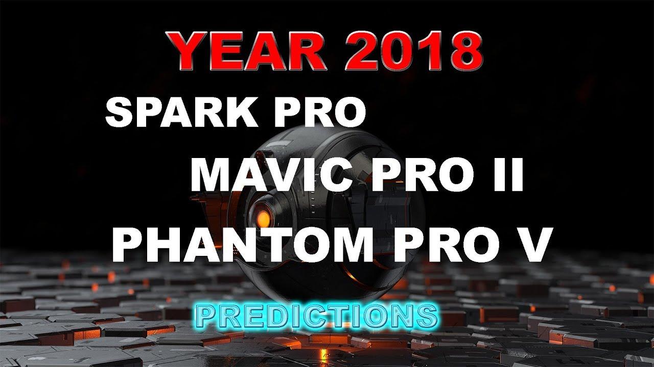 2018 DJI Drones