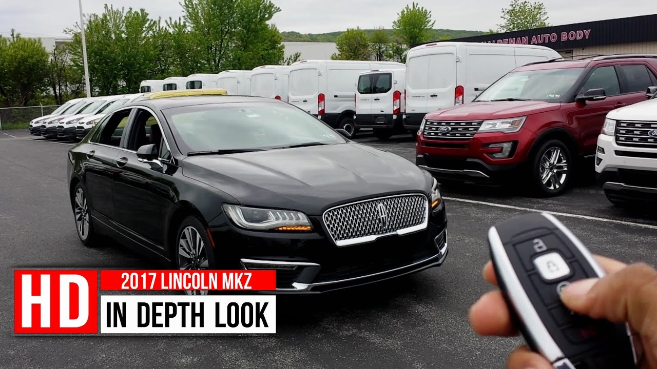 2017 Lincoln Mkz Reserve Turbocharged In Depth Walkaround Exterior Interior Tech