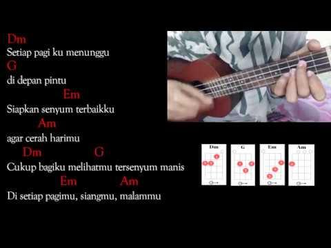 SEWINDU - Tulus   Ukulele Cover   Lyric And Chord