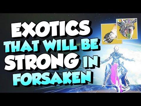 Warlock Exotics That Will Be OVER POWERED in Forsaken! [Destiny 2]