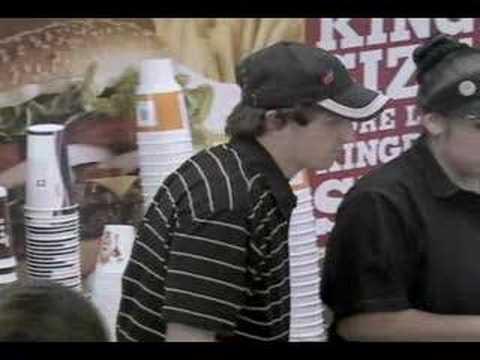 Burgerking Whopper Freakout Commercial