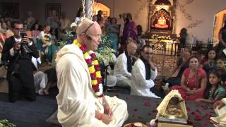 Vedic Hare Krishna Wedding of Keshava and Tara - Toronto - August 18, 2012.
