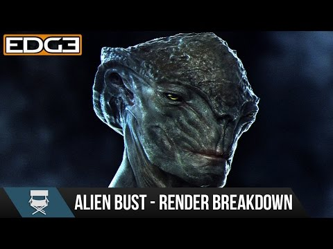 Zbrush & Keyshot Character Rendering Tutorial - Alien Creature Design HD