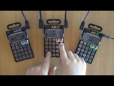 Kygo - Firestone Cover/Tutorial by 8-year-old on Pocket Operators PO-12, PO-14 & PO-16