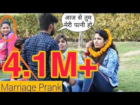 Varmala Prank On Cute Girls    Shadi Ho Gayi Best Prank 2019    Somesh Brijwasi