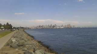 A view of Downtown San Diego from Coronado Island in Coronado, California (August 2013)