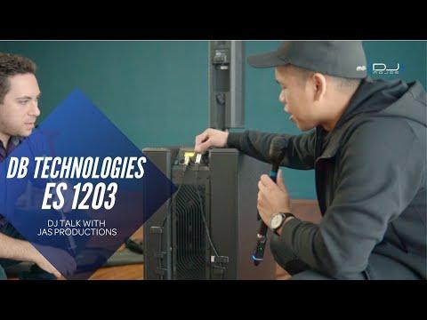 DB Technologies ES1203 Speaker Overview With DJ JAS