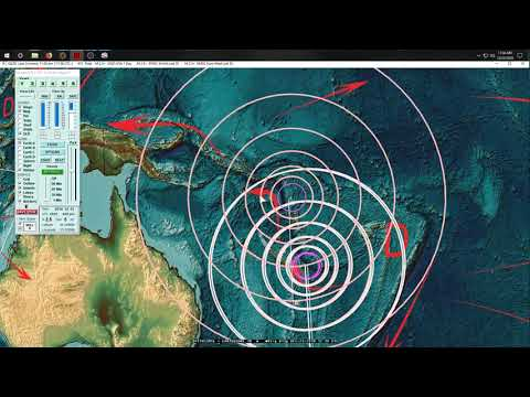 12/23/2018 -- Multiple large earthquakes taking place -- unrest spreading across Pacific
