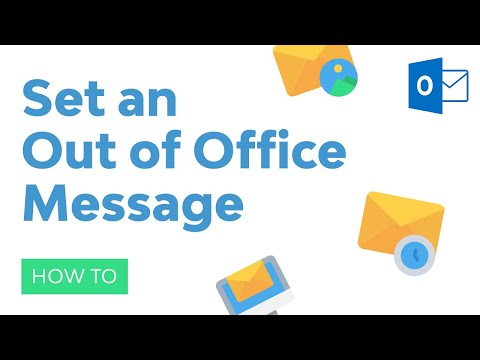 How To Set An Out Of Office Message In Outlook