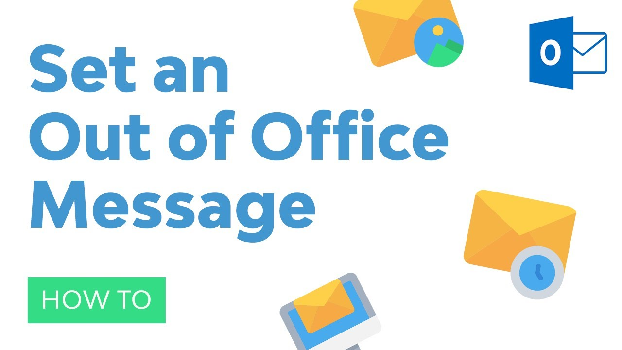 How to Set an Out of Office Message in Outlook (Automatic Away Reply)