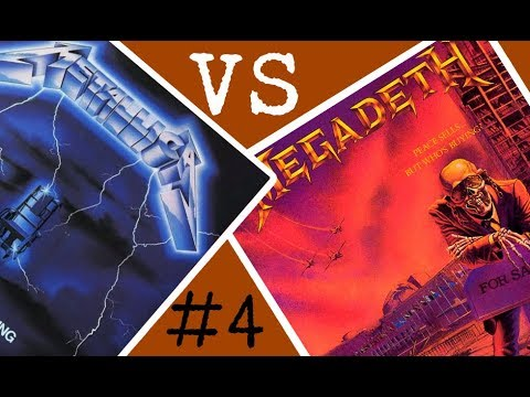Metallica vs Megadeth - Batalla de los álbumes #4