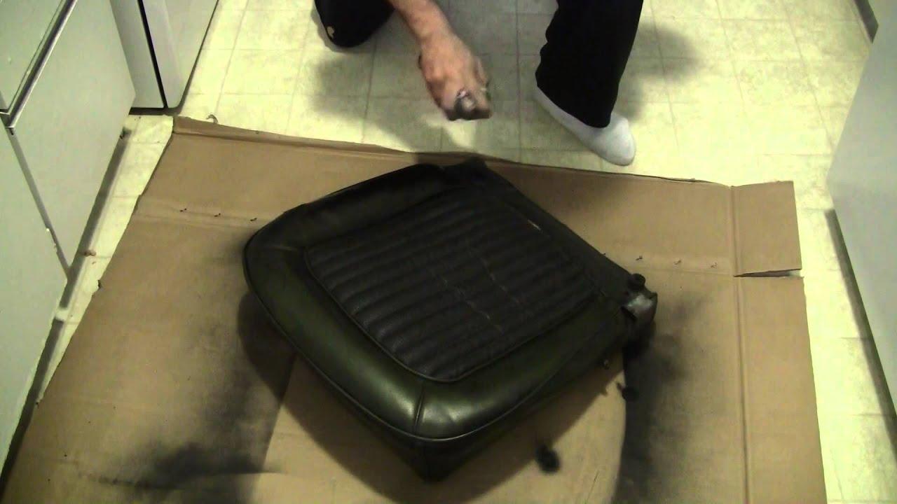 How To Restore Vinyl Seats Youtube