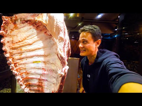 King of KOREAN BBQ! Best HANWOO BEEF + ½ Cow Fresh Sashimi | Korean Food in Seoul!
