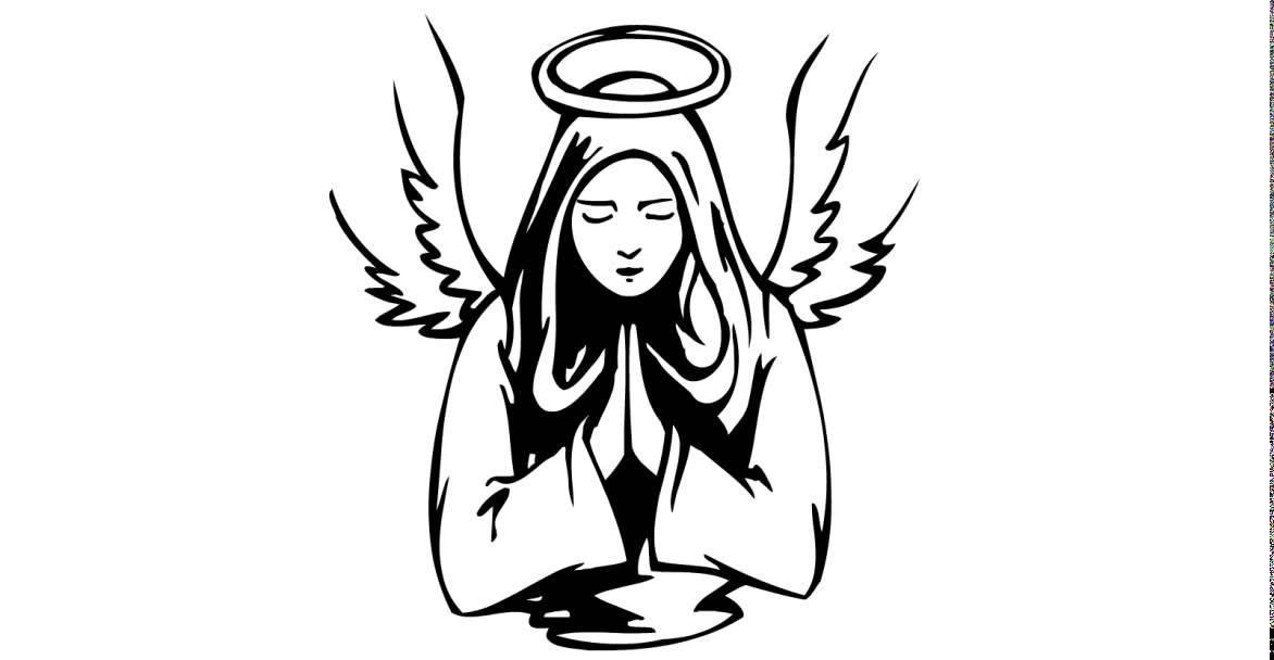 Draw a tattoo # christian religion angel 076 - YouTube
