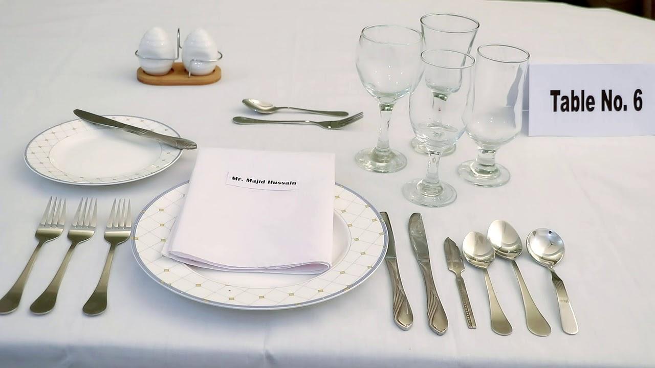 Dining Etiquette Pdf