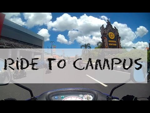 Scooter ride to Udayana Campus in Jimbaran | Bali