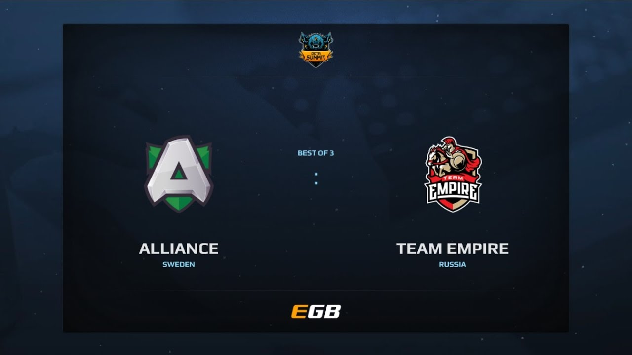 Alliance vs Team Empire, Game 1, Dota Summit 7, EU Qualifier