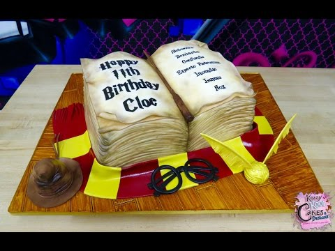 Download Harry Potter Birthday Cake