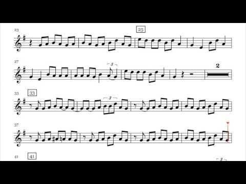 Lukas Graham   7 Years Saxophone Sheet Music Play Along