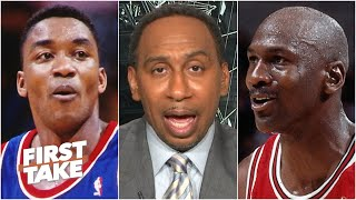 'Let it go!' - Stephen A.'s advice to Isiah Thomas after his latest MJ comments | First Take