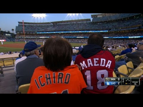Maeda and Ichiro meet for the first time from YouTube · Duration:  1 minutes 44 seconds