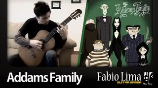 Addams Family Theme on Acoustic Guitar by GuitarGamer (Fabio Lima)