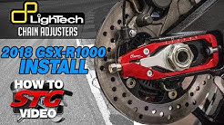 Lightech 2018 Suzuki GSX-R1000 Chain Adjusters Install | Sportbike Track Gear