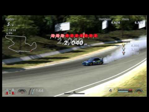 GT6 シーズナルイベント ドリフトトライアル インプラリーカー99