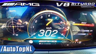 639HP Mercedes-AMG GT 63 S 0-302km/h ACCELERATION & LAUNCH CONTROL by AutoTopNL