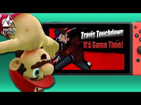 Shirtless Mario In Super Smash Bros Mod! Travis Touchdown Could Be In Super Smash Bros Switch!