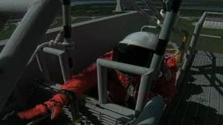 Fire on the Launch Pad! -- Disaster Training