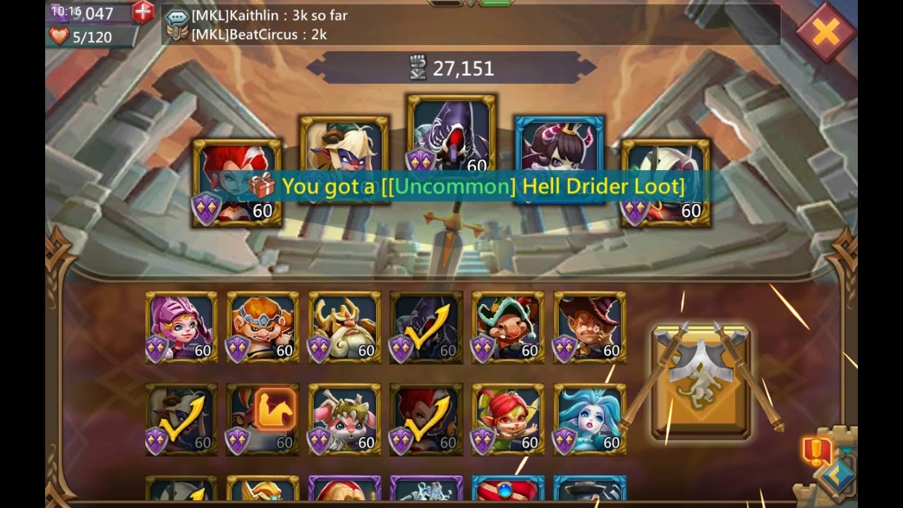 Lords Mobile - Killing With a Monster Hunting Guild