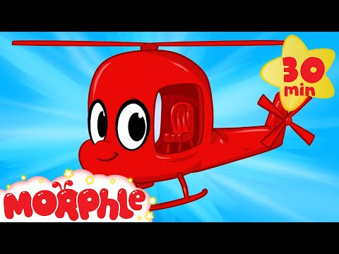 My Red Helicopter - My Magic Pet Morphle Video For Kids