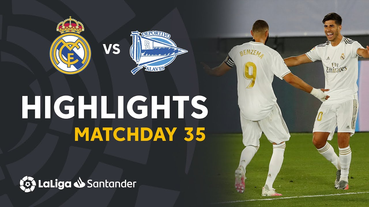 Highlights Real Madrid vs Deportivo Alavés (2-0)
