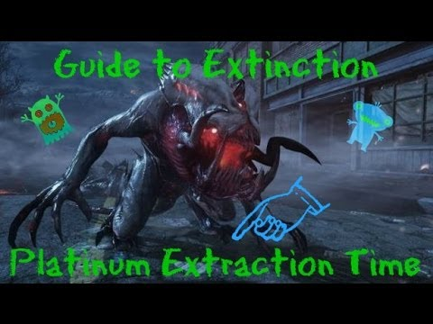 Call Of Duty: Ghosts - How To Beat Extinction In Platinum Time Strategy [ HD ]