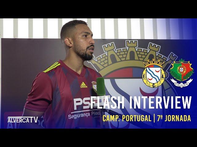 FC Alverca 2 - 0 CA Pêro Pinheiro | Flash Interview