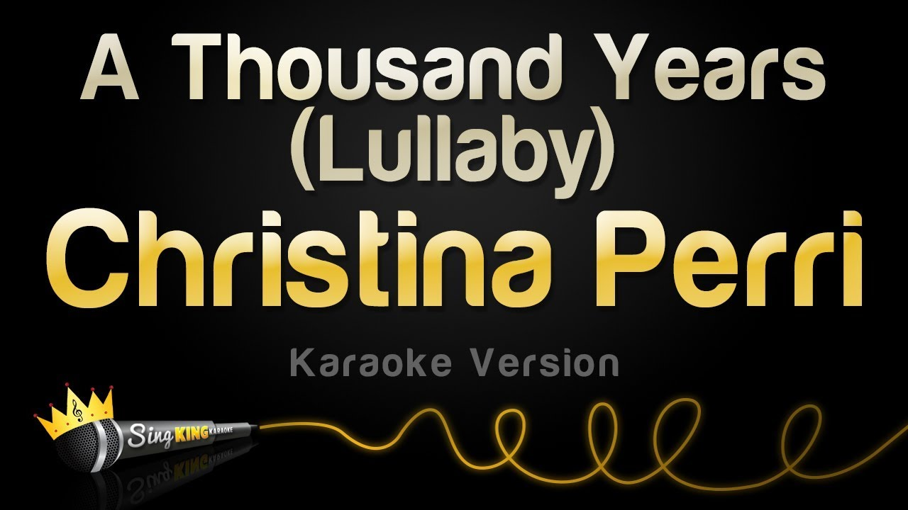 download lagu karaoke a thousand years