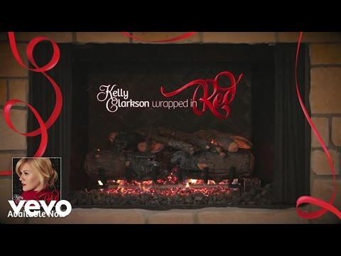 Kelly Clarkson - Run Run Rudolph (Kelly's 'Wrapped in Red' Yule Log Series)