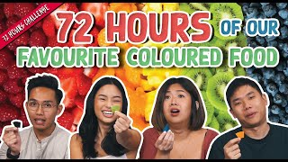 We Ate ONLY Food of Our Favourite Colour For 72 Hours! | 72 Hours Challenges | EP 9