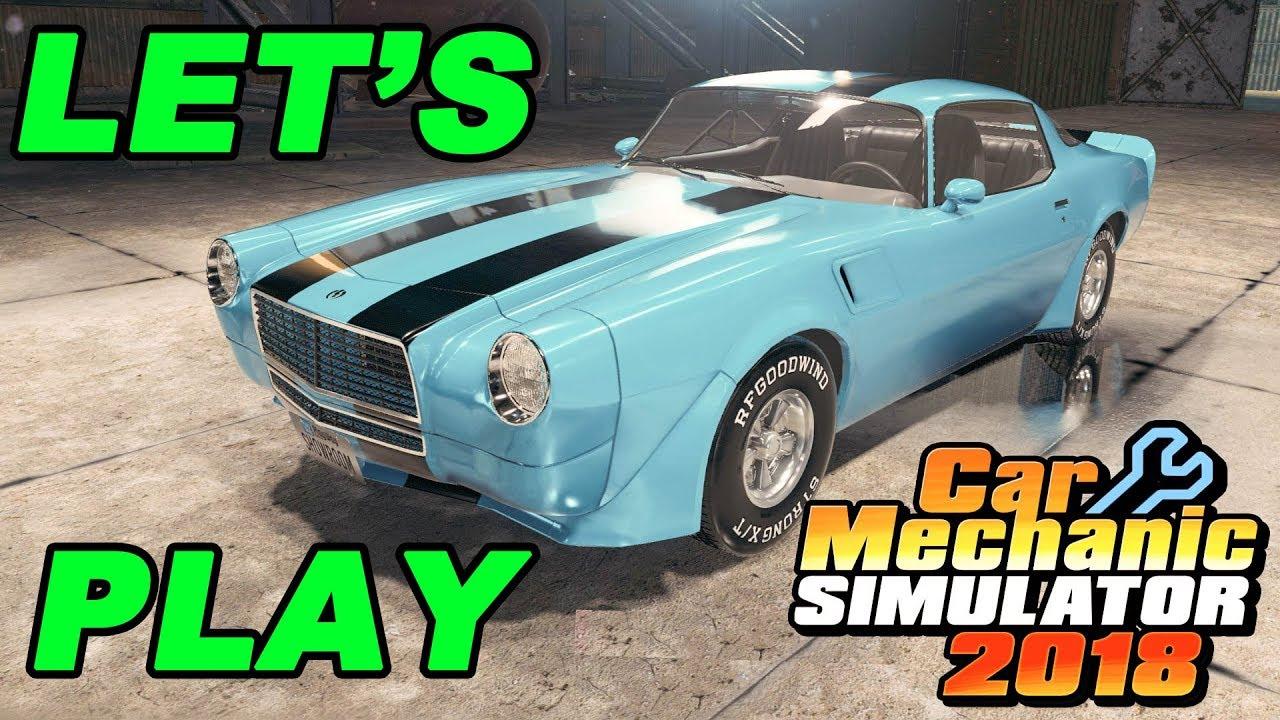 Let S Play Car Mechanic Simulator