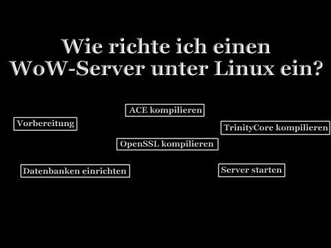 WoW Server Unter Linux Einrichten UPDATE ChiruclanDE - Minecraft bukkit server unter linux erstellen