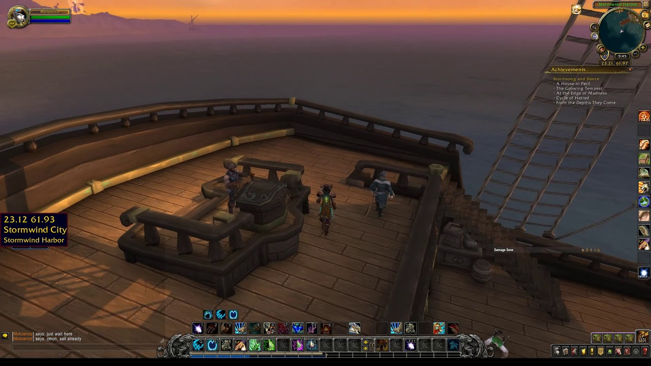 Alliance Ship to Stormwind from Boralus Location WoW BfA