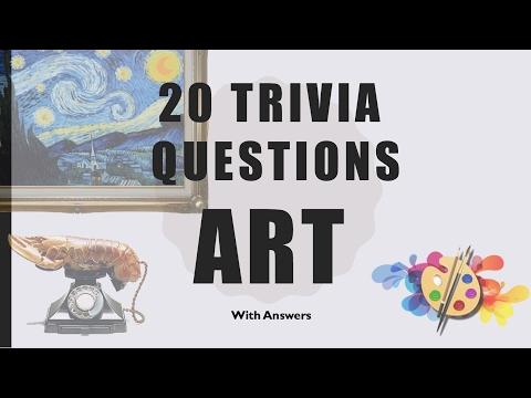 20 Trivia Questions (Art) No. 1