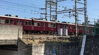 (初投稿)阪急8000系8004F 急行大阪梅田行き通過シーン