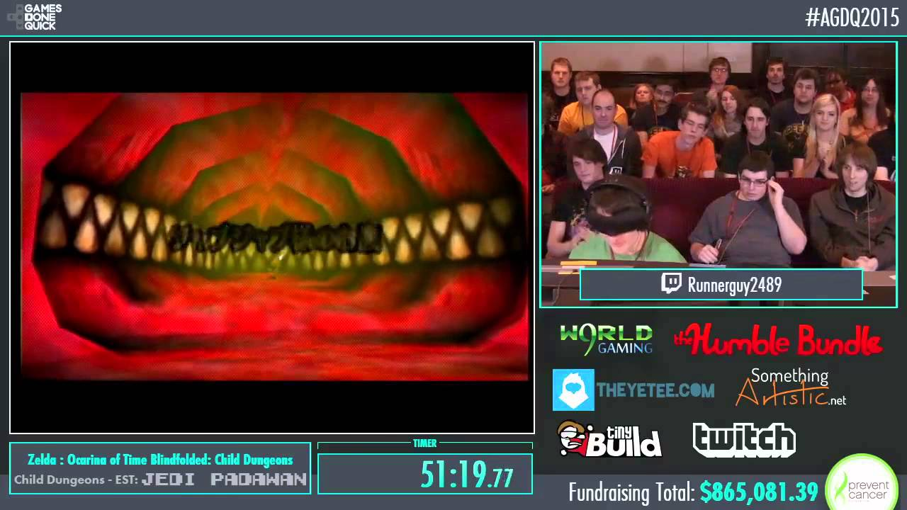 Awesome Games Done Quick 2015 Part 169 Zelda Ocarina