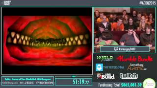 Awesome Games Done Quick 2015 - Part 169 - Zelda: Ocarina of Time (Blindfolded) by Runnerguy2489