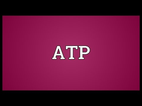 ATP Meaning