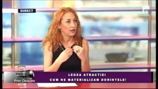 LEGEA ATRACTIEI-Cum ne materializam dorintele?! Ramona Popescu-explorator spiritual
