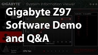 gigabyte z97 motherboard software demo and q